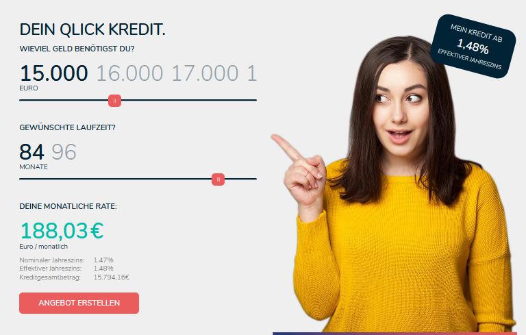 Qlick Bank Kredite